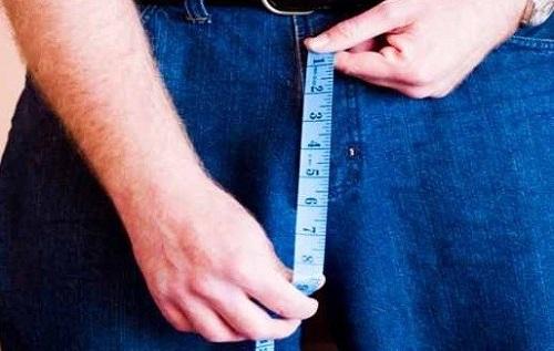 С возрастом у мужчин половой член уменьшается в размерах.