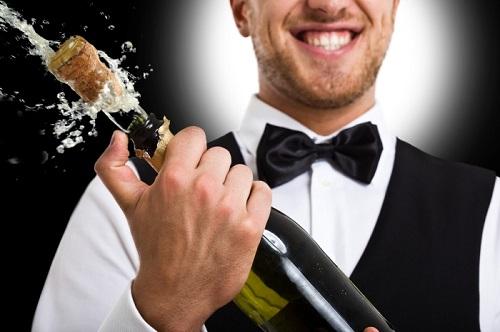 Шампанское, сэр!