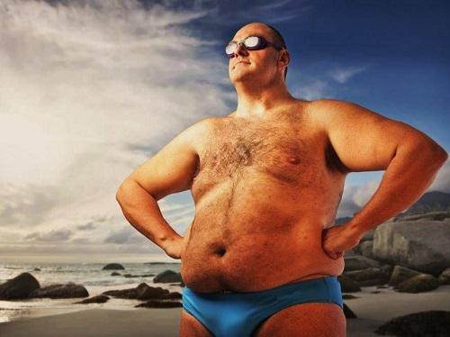 Ожирение – первый враг мужчины.