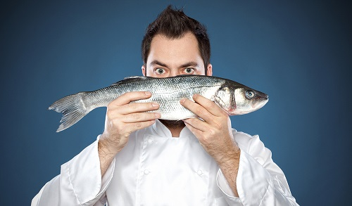Морская рыба полезна для здоровья мужчины.
