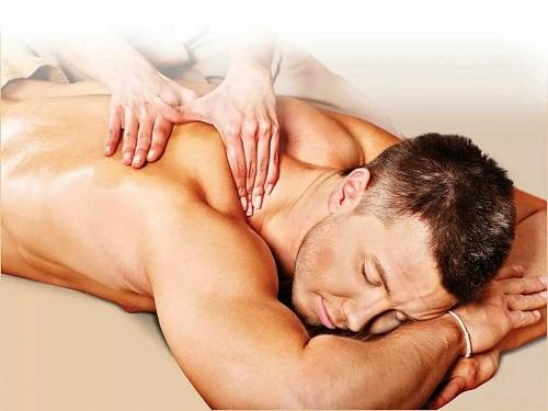 О том, что массаж все же полезен для мужчин