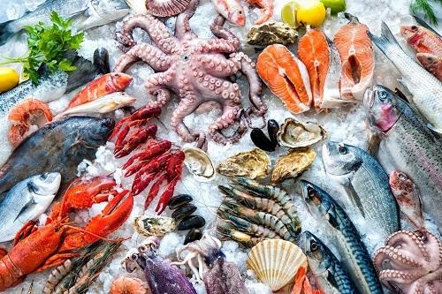 Полезные для мужчины морепродукты.