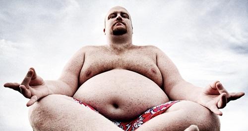 Ожирение у мужчин.