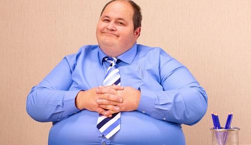 Мужское ожирение.