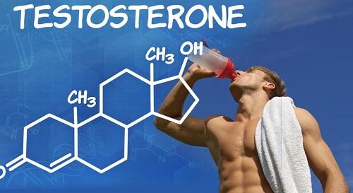 Высокий уровень тестостерона.