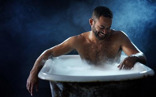 Горячие ванны для мужчины.