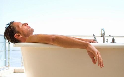 Ванная для мужчины.